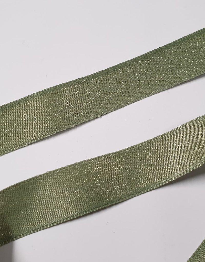 Sparkle  satijn groen