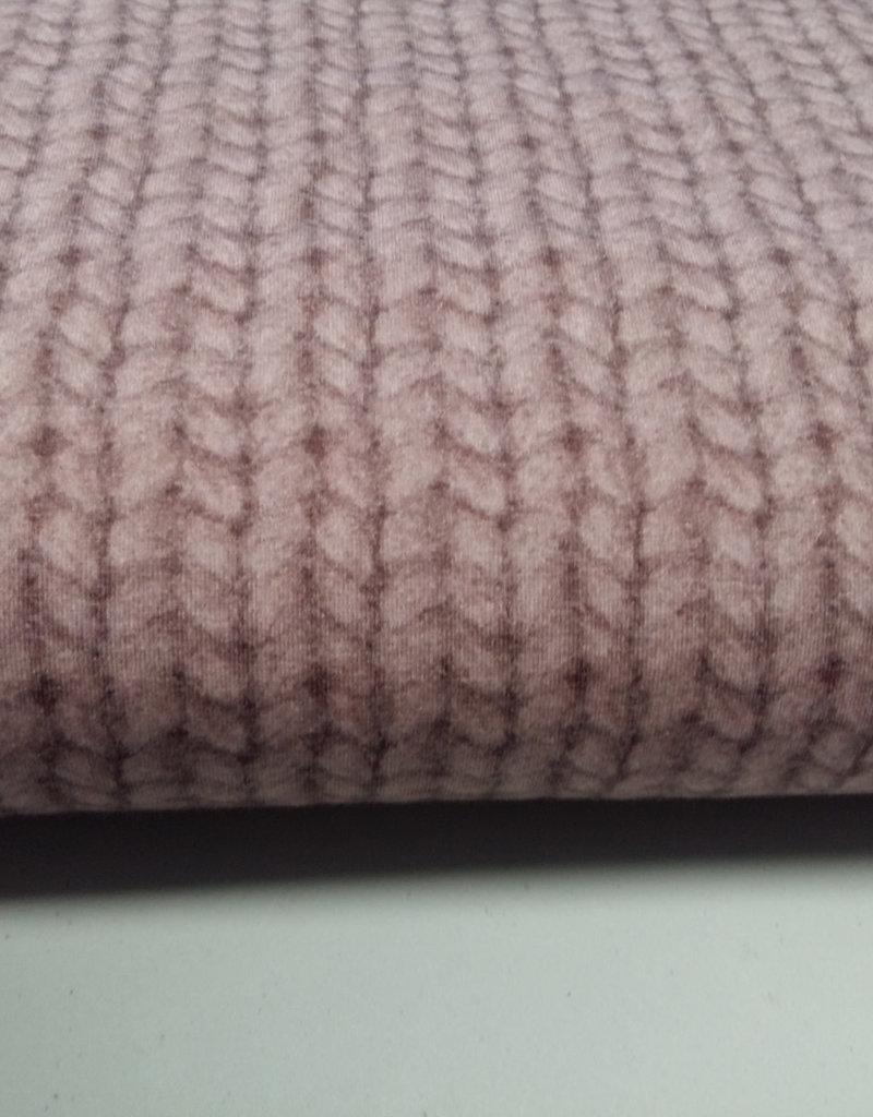 Sweat rosé breiwerk
