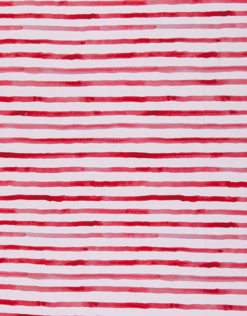 Ocean breeze stripes red