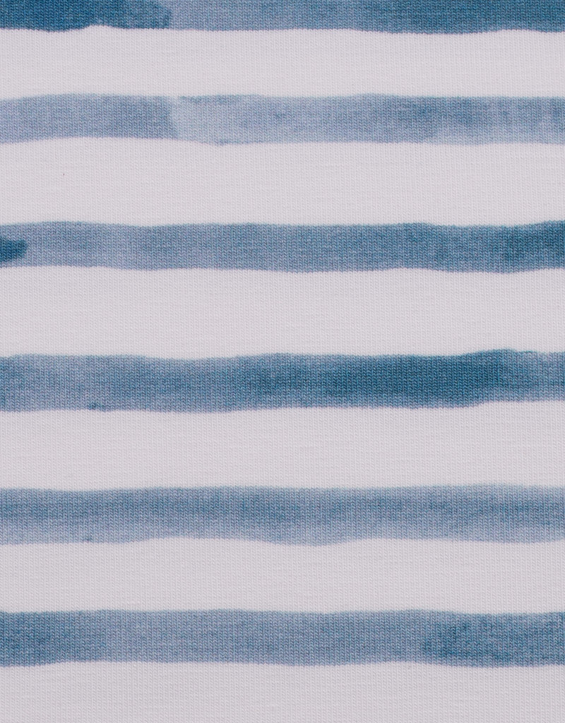 Ocean breeze stripes blue