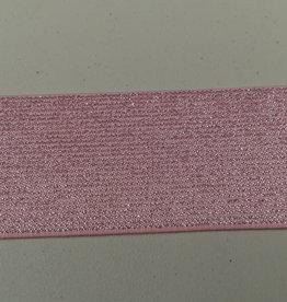 Glitterelastiek roze