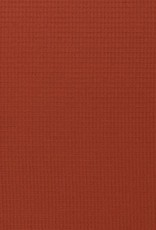Nelson wafel badstof  terracotta