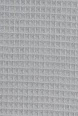 Nelson wafel badstof  licht grijs