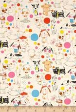 Alexhander Henri Fabrics Puppy polka dots