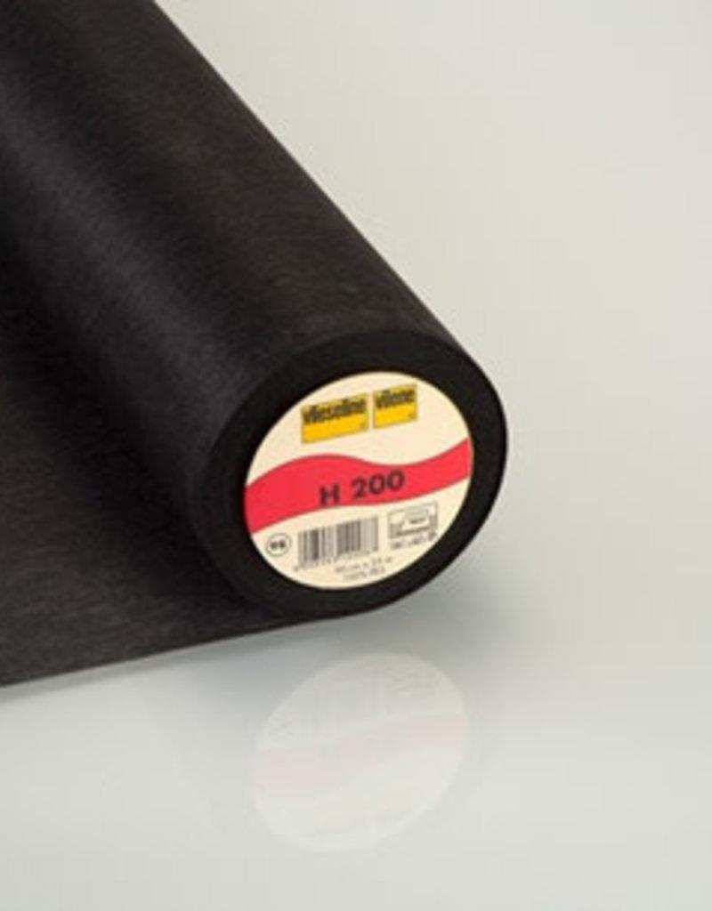 Vlieseline H200 Zwart