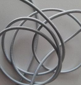 juwelen Ronde elastiek licht grijs