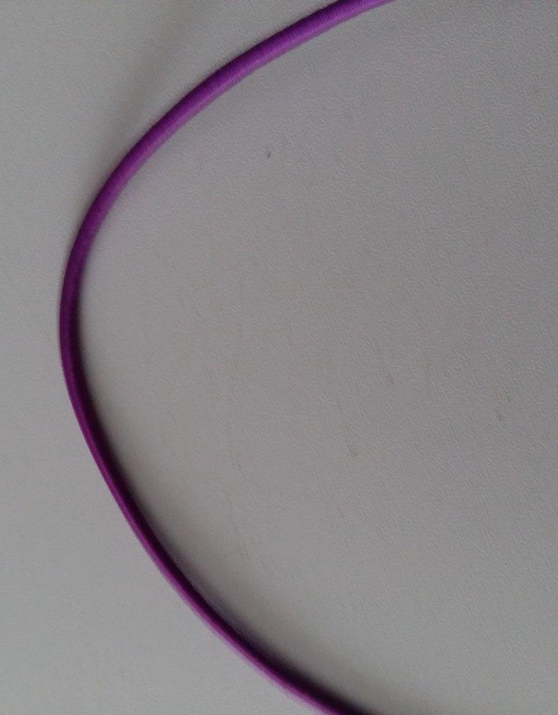 juwelen Ronde elastiek paars