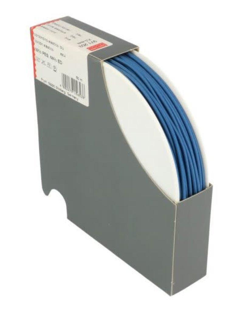Elastische koord blauw 2.5 mm