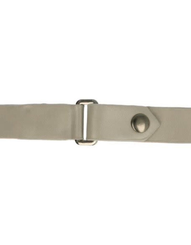 Kiltriem 18 mm licht grijs