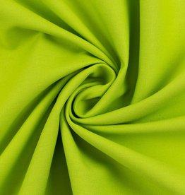 Heide katoen kiwi groen