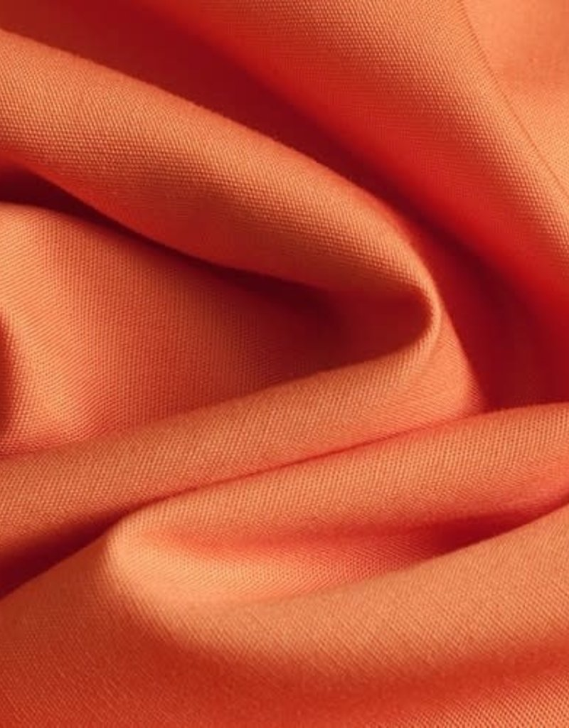 Tubingen Batist katoen oranje