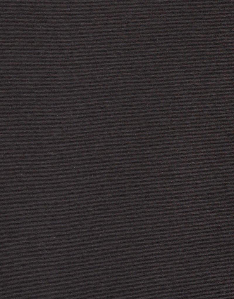 Bella gestreepte tricot zwart/grijs