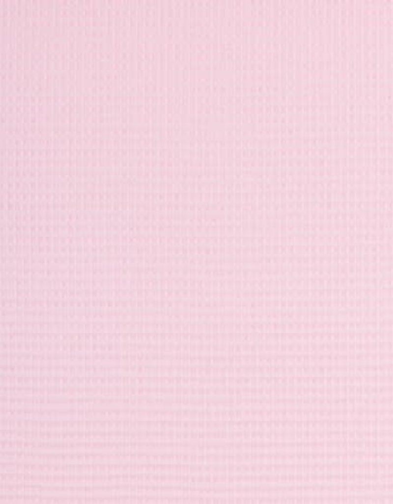 Nelson wafel badstof  roos