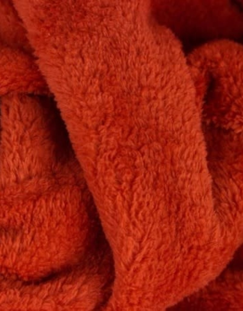Wellness fleece rood