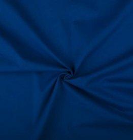 Poplin katoen blauw