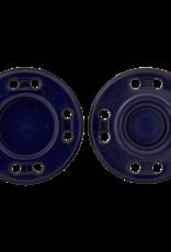 Drukknoop donker blauw