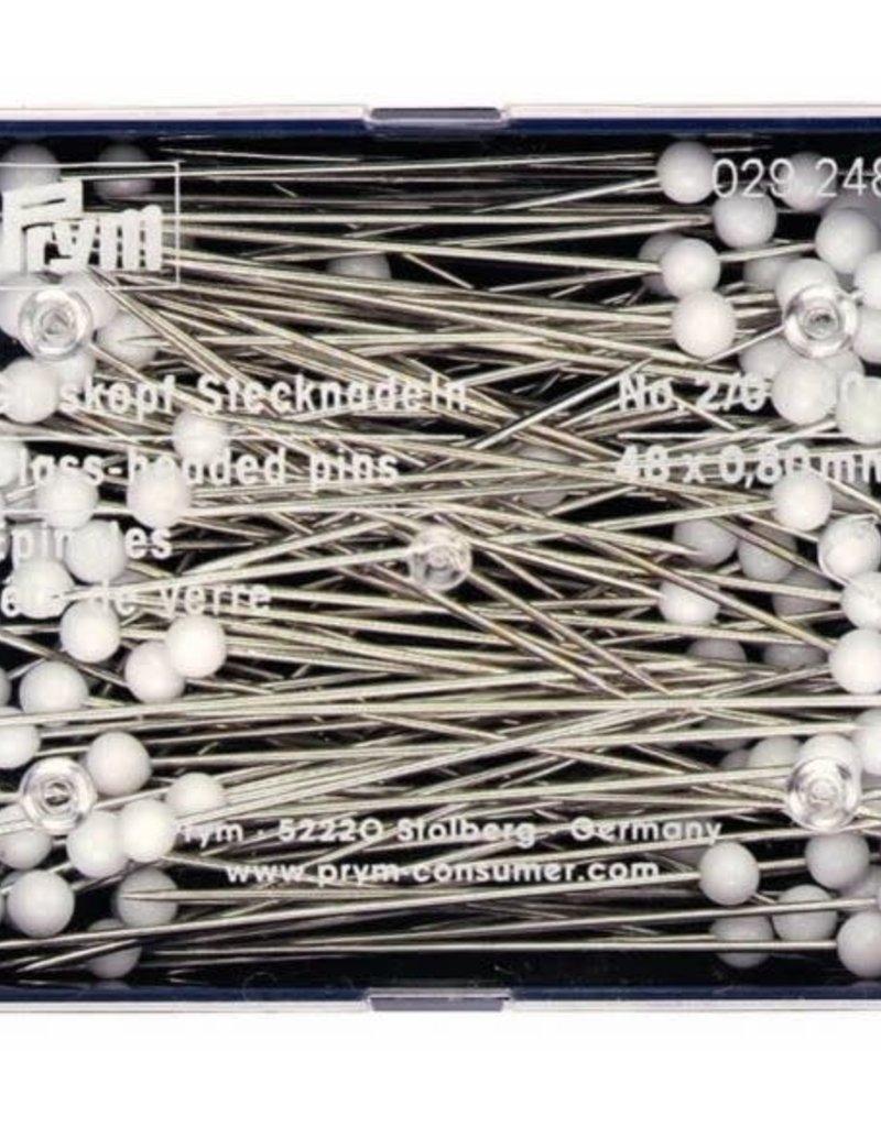 Glaskopspelden 48 x 0,80 mm