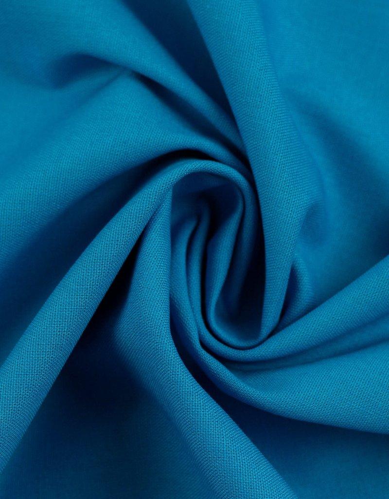 Katoen uni blauw