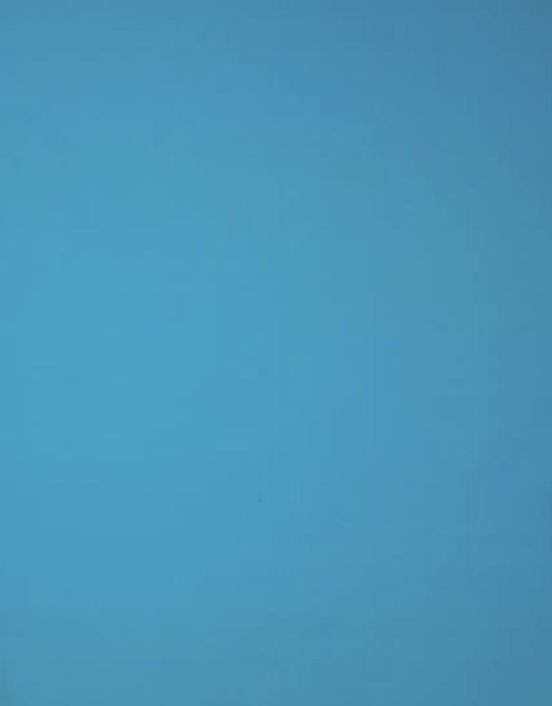 Poplin katoen uni turquoise