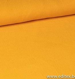 Fibre mood Tricot geel geribt