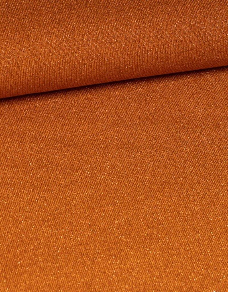 Glitter oranje