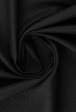Satine katoen zwart