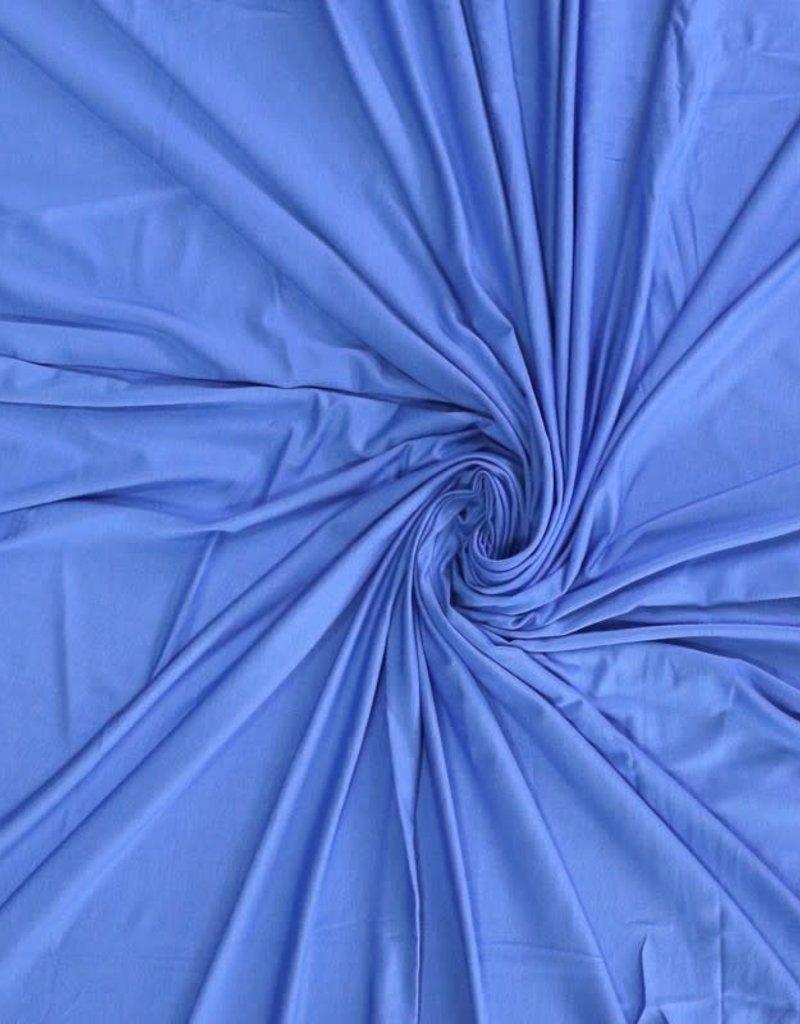 Bamboo tricot katoen royal blue