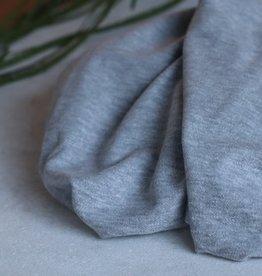 Mind the maker Brushed pique sweater light grey