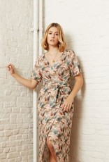 Atelier Jupe Viscose with colorful lines