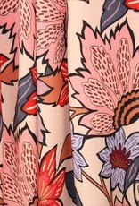 Atelier Jupe Soft pink viscose with large flower print