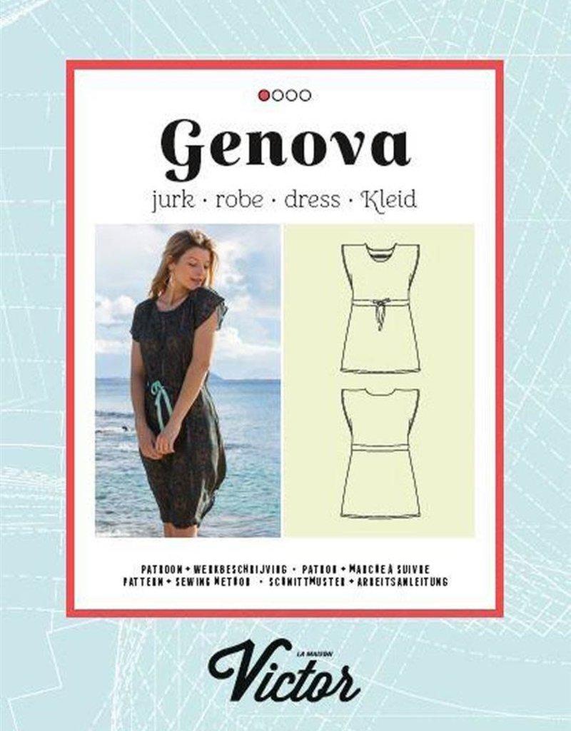 La Maison Victor Genova jurk