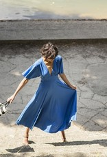 Fibre mood Agatha dress blauw