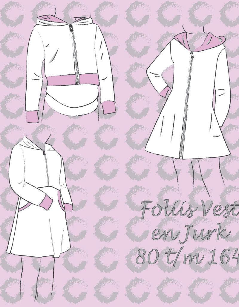 Sofilantjes foliis vest en jurk