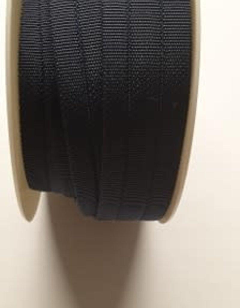Doorstikte tassenband donker blauw