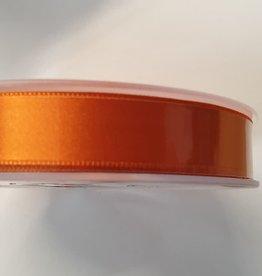 Satijnlint oranje 15 mm