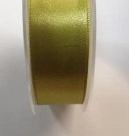 Satijnlint 25 mm groen