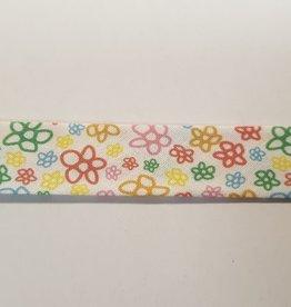 Biaislint fleurs 20mm
