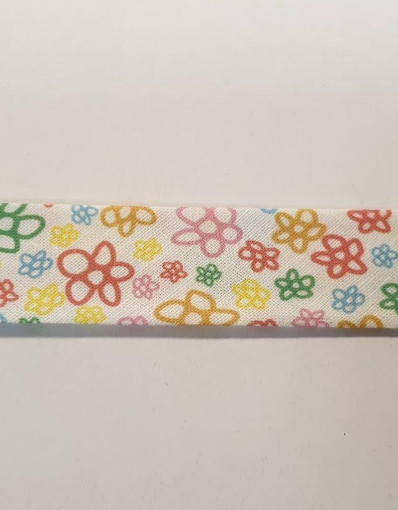Biaislint fleurs 25mm