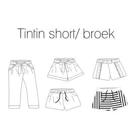 Iris May Tintin short