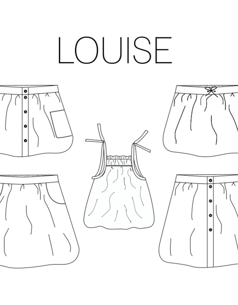 Iris May Louise top en rok