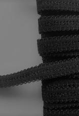 Schouderband  zwart 12 mm