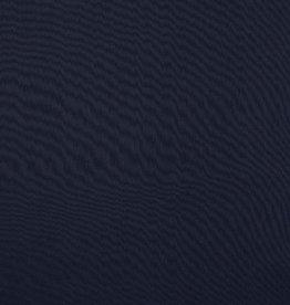 Katoen voile donker blauw