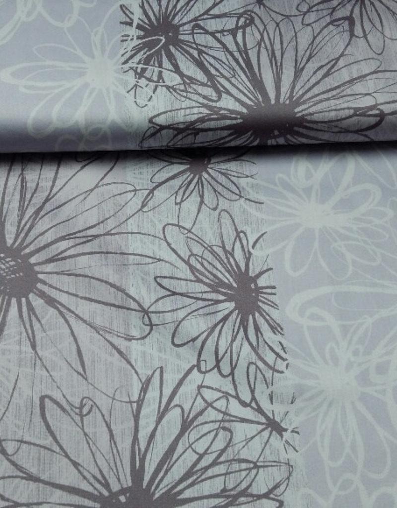 Paneel flower print