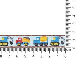 Geweven band met trucks
