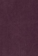 Juna ribfluweel donker paars
