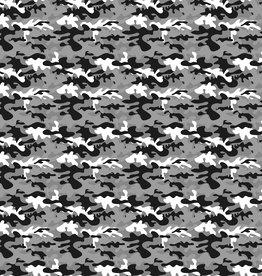 Legerprint grijs