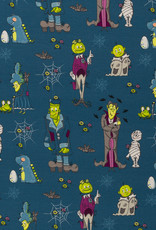 Happy monsters by Birgit Boley halloween