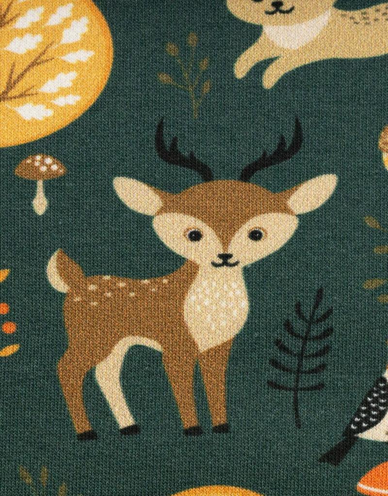 Bosdieren in het groen
