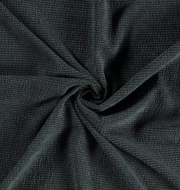 Rib fluweel dark groen