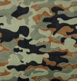 Jacquard fleece camouflage